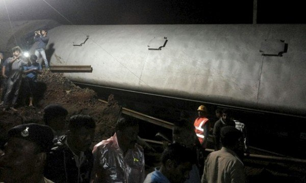 India train crash Madhya Pradesh