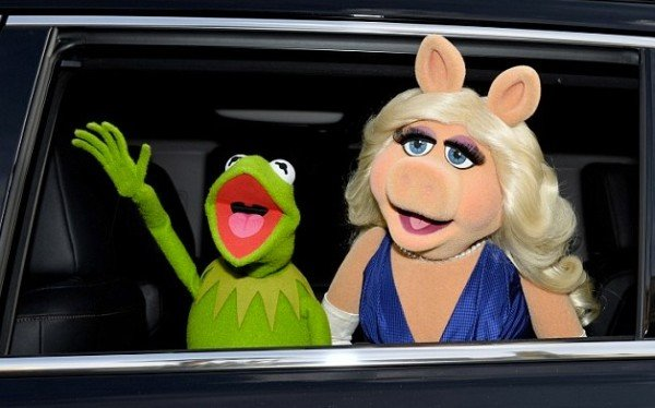 Kermit and Miss Piggy split