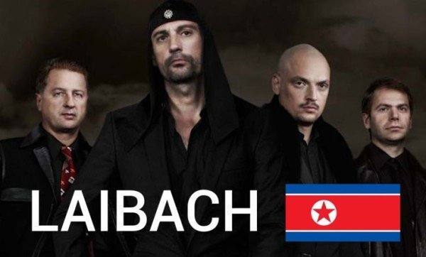 Laibach North Korea concert 2015