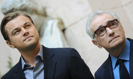 Leonardo DiCaprio and Martin Scorsese The Devil in the White City