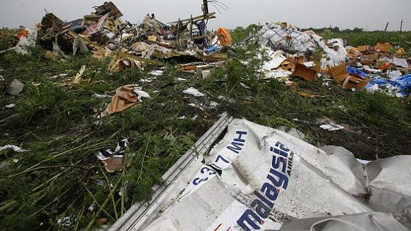 MH17 crash site Ukraine
