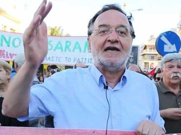 Panagiotis Lafazanis breaks Syriza party