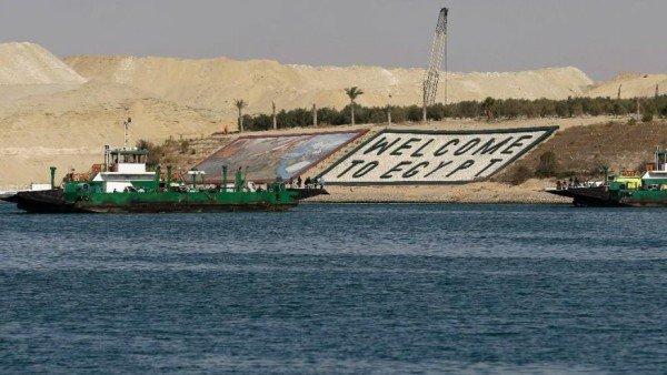 Suez Canal expansion 2015