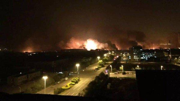 Tianjin explosions 2015