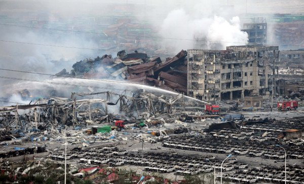 Tianjin explosions compensations