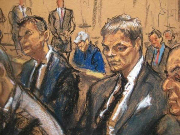 Tom Brady court sketch