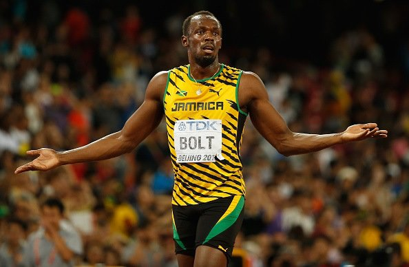 Usain Bolt 15th IAAF World Athletics Championships Beijing 2015