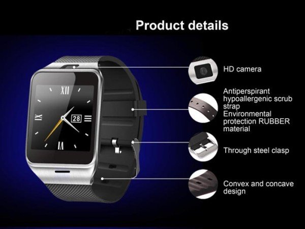 gearbest-GV18-Aplus-Smart-Watch-Phone-details