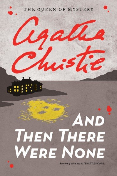 And Then There Were None voted world favorite Agatha Christie novel