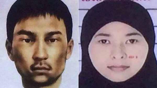 Bangkok bomb attack suspects