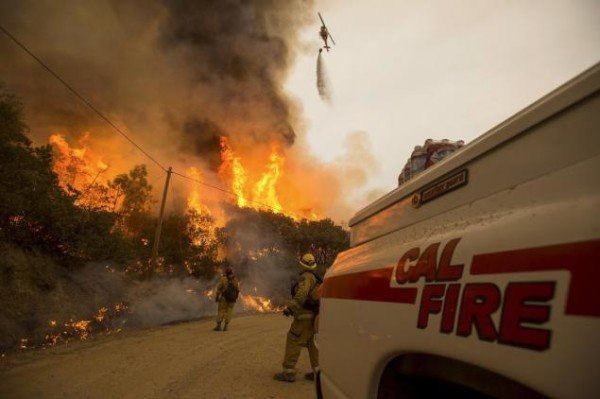 California wildfires 2015 state of emergency