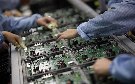 Chinese factory data August 2015