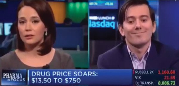 Daraprim price increase scandal 2015