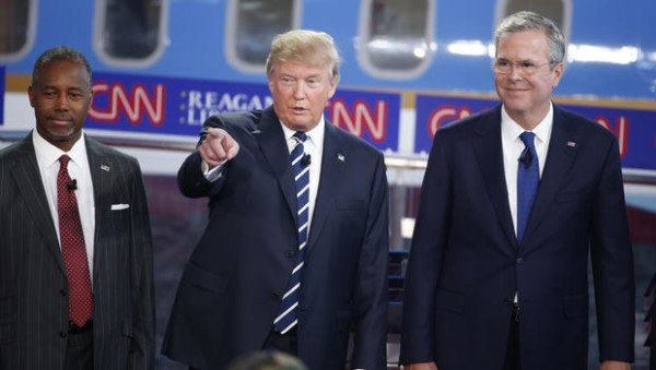 Donald Trump second Republican debate 2015