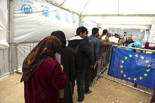 EU refugee influx 2015
