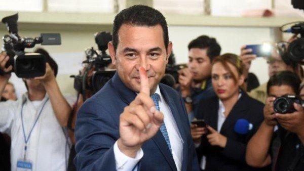 Guatemala elections 2015 Jimmy Morales