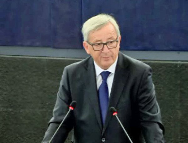 Jean Claude Juncker on refugee crisis September 2015
