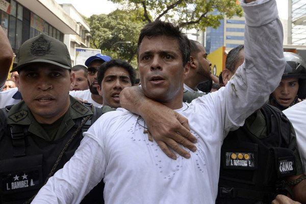 Leopoldo Lopez jailed in Venezuela