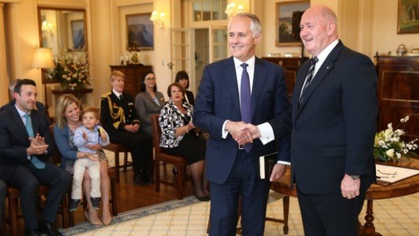 Malcolm Turnbull sworn in as Australia prime minister