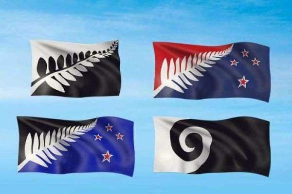 New Zealand flag design finalists