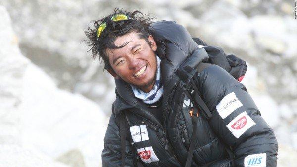 Nobukazu Kuriki abandons Everest climbing