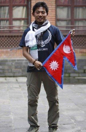 Nobukazu Kuriki nears Everest summit