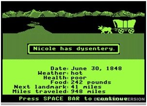 Oregon Trail Screenshot by The Pug Father from Flickr Creative Commons.