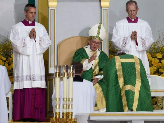 Pope Francis Philadelphia Mass