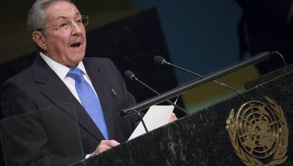 Raul Castro UN General Assembly 2015