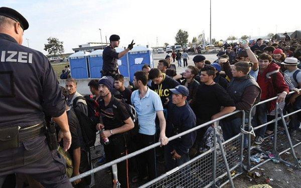 Refugees border control