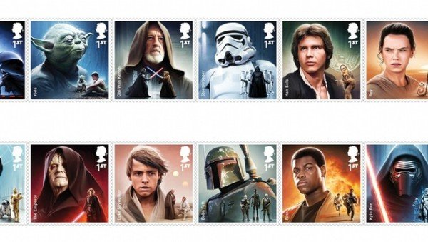 Star Wars stamps 2015 Royal Mail