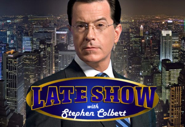 Stephen Colbert Late Show debut 2015