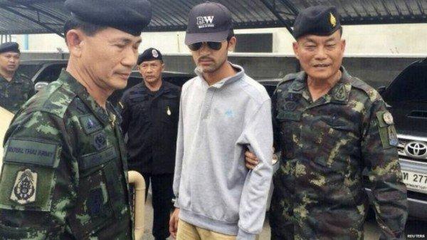 Suspect Erah Davutoglu Bangkok bombing
