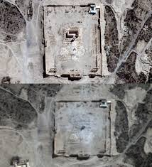 Temple of Bel satellite image