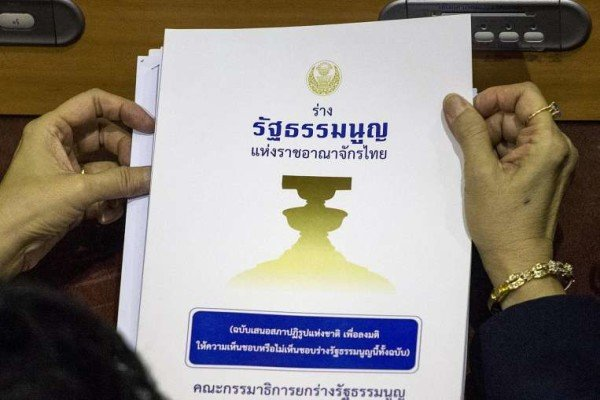 Thailand draft constitution