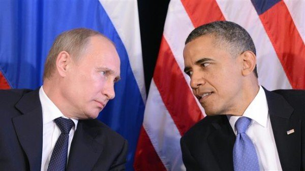 Vladimir Putin and Barack Obama Syria talks