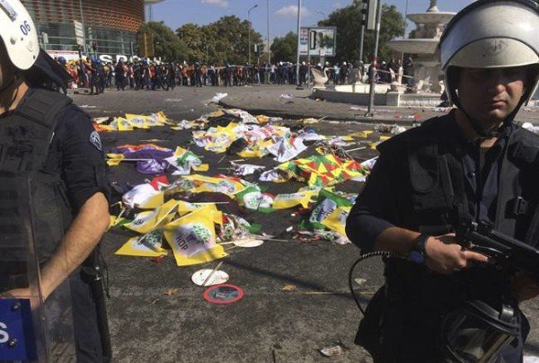 Ankara bombing death toll