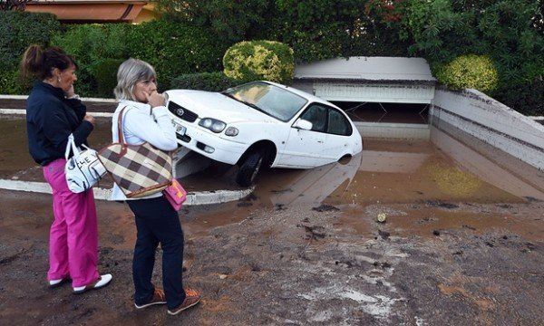 French Riviera flooding 2015