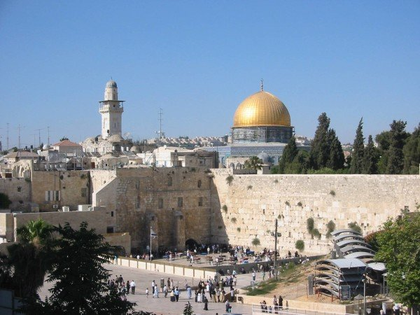 Jerusalem Temple Mount Haram al-Sharif Holy Site
