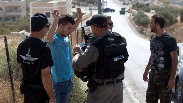 Jerusalem checkpoints 2015