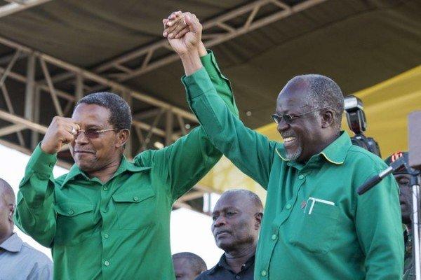 John Magufuli introduced by Tanzania President Jakaya Kikwete