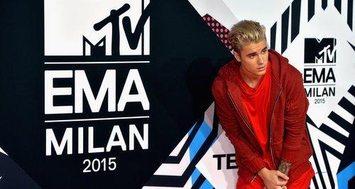 Justin Bieber MTV EMA Milan 2015