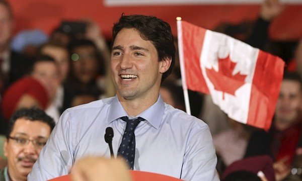 Justin Trudeau wins Canada general election 2015