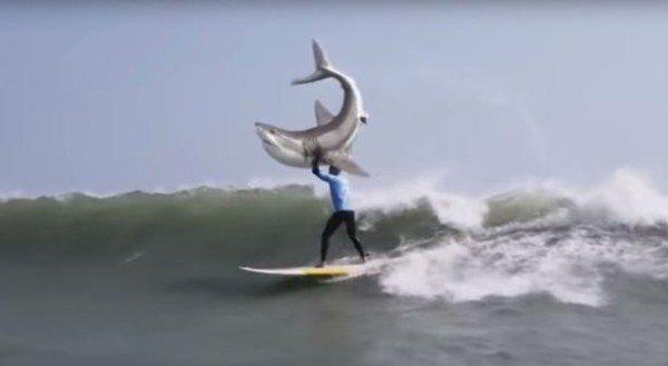KFC shark attack parody Mick Fanning