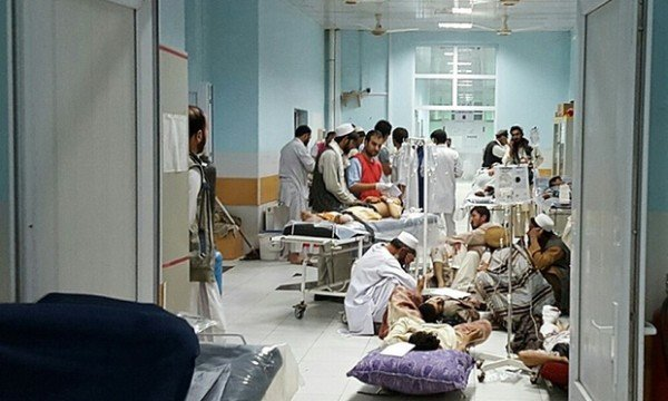 Kunduz hospital bombing Afghanistan