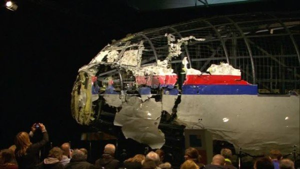MH17 crash report