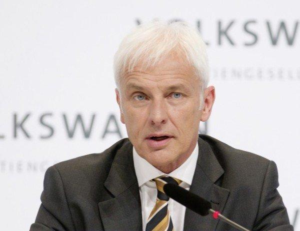 Matthias Muller VW CEO