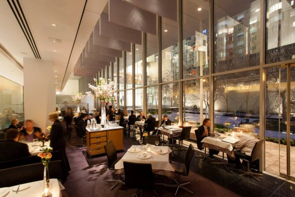 New York tipping The Modern restaurant