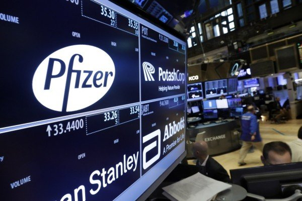 Pfizer Allergan merger talks