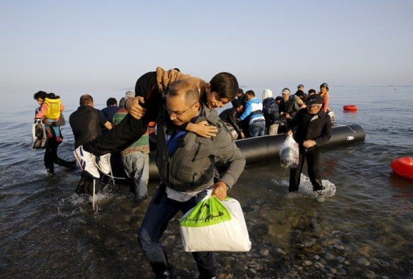 Refugees Greece islands